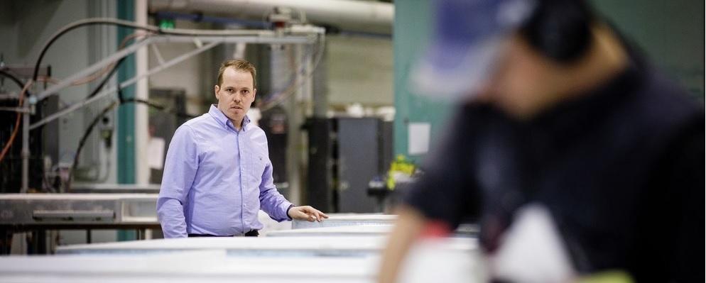 Esmarin Composites, tuotanto nelinkertaistui ELY-keskuksen rahoituksella